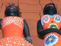 afrykański lalki Fotografia Stock