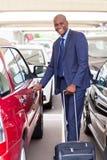 Afrykański lotniskowy parking Obrazy Stock