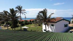Afrykański miasteczko w Mozambik Zdjęcie Stock