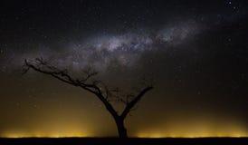 Afrykański niebo Fotografia Royalty Free