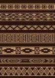 Afrykański ornament Zdjęcia Royalty Free