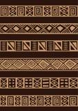 Afrykański ornament Obrazy Royalty Free