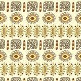 Afrykański ornamentu wektoru wzór Zdjęcia Stock