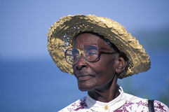 Afrykański potomek, Trinidad Zdjęcie Stock