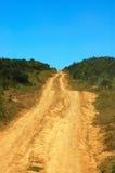 afrykański road Obraz Royalty Free