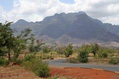 afrykański road Zdjęcie Royalty Free