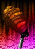 Afrykański szalik, portreta Afro kobieta w tradycyjnym turbanie Plemienna Kierownicza opakunek moda, Ankara, Kente, kitenge adama royalty ilustracja