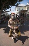 Afrykański tancerz w Kapsztad S Afryka Fotografia Stock