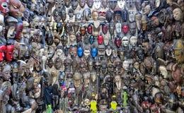 afrykańskich maski Obraz Royalty Free