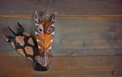 afrykańskich maski Zdjęcie Stock