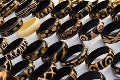 Afrykańskie bransoletki Zdjęcie Royalty Free