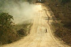 Afrykańskie drogi Fotografia Royalty Free