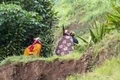 Afrykańskie kobiety - Rwanda Zdjęcia Stock