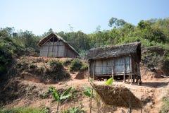 Afrykańskie malagasy budy w Andasibe regionie Zdjęcie Stock