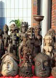 afrykańskie maski Obraz Stock