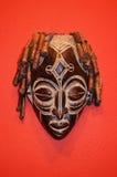 Afrykańskie maski Zdjęcia Royalty Free