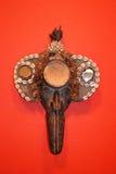 Afrykańskie maski Zdjęcia Stock