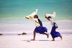 Afrykańskie uczennicy Fotografia Royalty Free