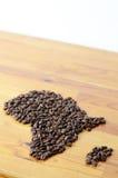 Afryka symbol robić kawa Obraz Stock