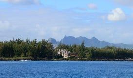 Afryka, teren Portowy Louis w Mauritius Obrazy Stock