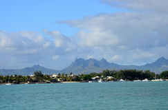 Afryka, teren Portowy Louis w Mauritius Obraz Royalty Free