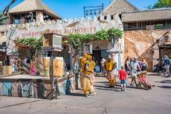 Afryka teren przy Zwierzęcym królestwem przy Walt Disney światem Fotografia Royalty Free