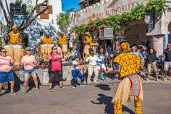 Afryka teren przy Zwierzęcym królestwem przy Walt Disney światem Obrazy Royalty Free