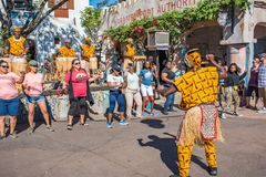 Afryka teren przy Zwierzęcym królestwem przy Walt Disney światem Zdjęcia Royalty Free