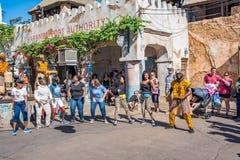 Afryka teren przy Zwierzęcym królestwem przy Walt Disney światem Obrazy Stock