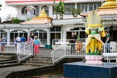 Afryka, Uroczysta Bassin indyjska świątynia w Mauritius wyspie Obraz Royalty Free