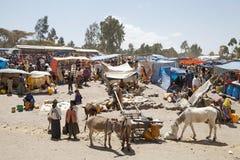 Afryka wiejski rynek Obrazy Royalty Free