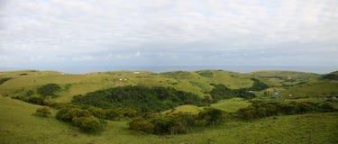 Afryka zielone ziemie Zdjęcia Royalty Free