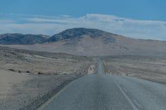 Afrykanów krajobrazy - Diamentowy teren Namibia Fotografia Royalty Free