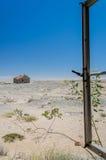 Afrykanów krajobrazy - Diamentowy teren Namibia Obrazy Stock