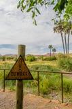 Afrykanów krajobrazy - Palmwag Namibia Zdjęcie Stock