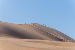 Afrykanów krajobrazy - Sossusvlei Namibia Fotografia Stock