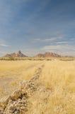 Afrykanów krajobrazy - Spitzkoppe Namibia Obraz Royalty Free