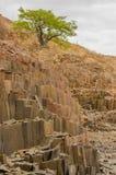 Afrykanów krajobrazy - Twijfelfontein Namibia Zdjęcia Stock