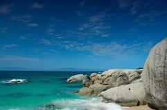 afrykanów plażowi południe Obrazy Royalty Free