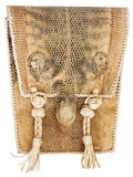 Afrykanów plemion pustynna dzika torba Fotografia Royalty Free