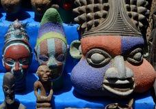 Afrykanów rzemiosła w Essaouira, Maroko Obrazy Royalty Free