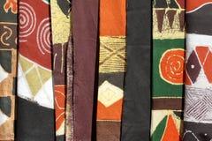 Afrykanów ubrania kolory Obraz Royalty Free