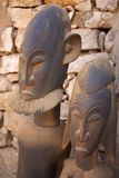 Afrykanin grafika & maska Zdjęcia Stock