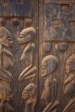 Afrykanin grafika & maska Zdjęcia Royalty Free