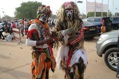 Afrykanin Kankurang Fotografia Stock