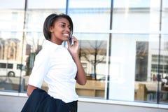 afrykanin kobieta szkolna studencka Zdjęcia Stock
