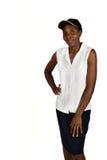 afrykanin kobiety jednolite young Obrazy Royalty Free