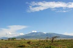 afrykanin krajobrazowy Tanzania Obraz Royalty Free