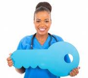 Afrykanin lekarki klucz Zdjęcie Stock