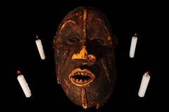 afrykanin maska Fotografia Royalty Free
